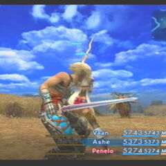 Mythril Blade in <i>Final Fantasy XII</i>.
