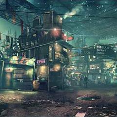Sector 7 Slums.