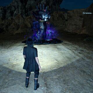 Железный гигант появляется из-под земли.