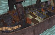 Cargo Ship Deck