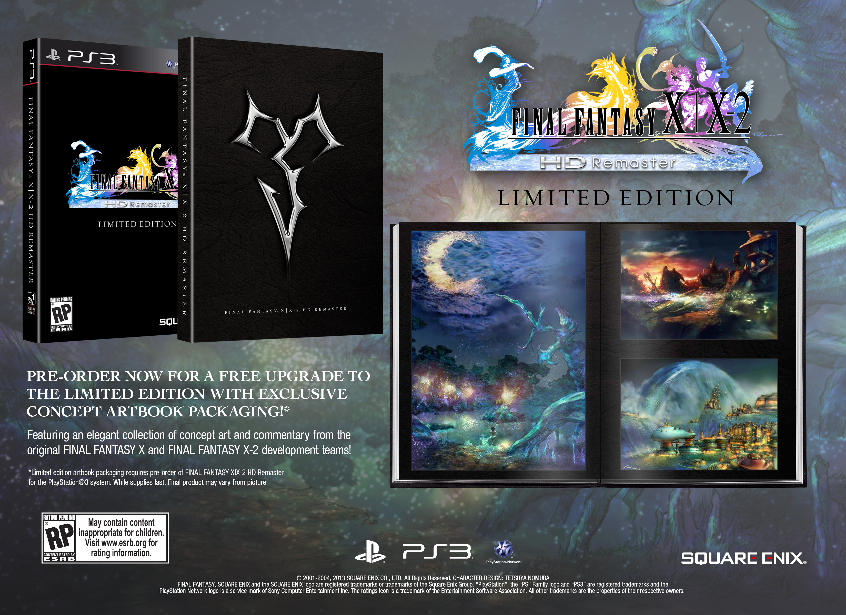 Final fantasy x / x-2 hd remaster collector's edition: amazon. Co.