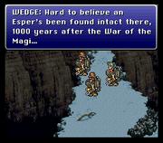 Final Fantasy III US Wedge talks