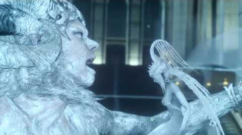 Shiva VS Ifrit - Secret Summon Fight - Final Fantasy XV