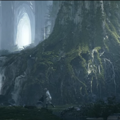 Tenebrae, as it appears in <i>Kingsglaive: Final Fantasy XV</i>.