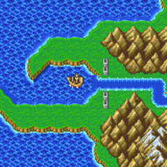 Torna Canal on the World Map (GBA).