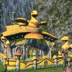 A Chocobo-themed residence.