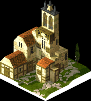 Church Outside of Town 1