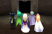 Demon Wall closing in ffiv ios