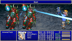 FF4PSP Enemy Ability Beam