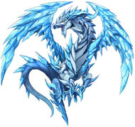FFLTNS Ice Dragon Artwork