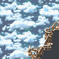 Ultros & Typhon battle background (GBA)