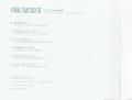 FFXV OST LE PC Interior