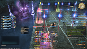 Fulmination from FFXIV Fury's Fourteen knockback screenshot