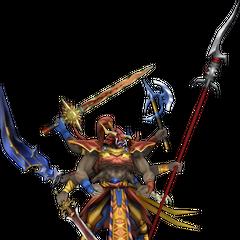 Verdadeira forma de Gilgamesh em  em Dissidia 012