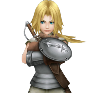Zidane's second alt outfit, based on his Knight of Pluto disguise.