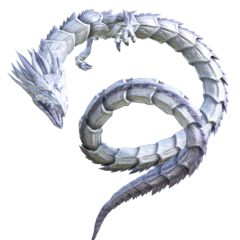 Silver Dragon Scales.