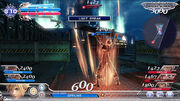 Dissidia 2015 Early UI