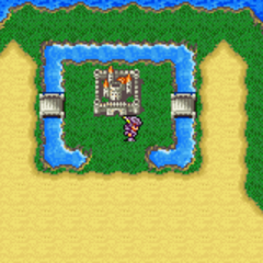Fabul on the World Map (GBA).