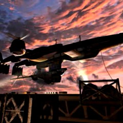 <i>Highwind</i> docked in an FMV.