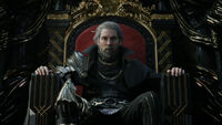 Regis Sitting On Throne