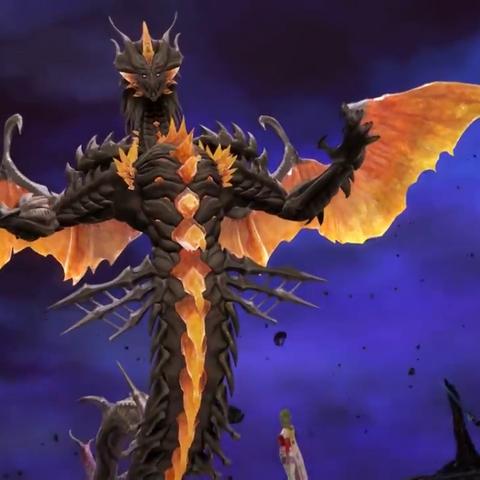 Shinryu's true form in <i>Dissidia Final Fantasy NT</i>.
