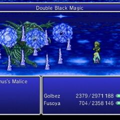 Double Black Magic Blizzaga in <i>The After Years</i> (Wii).
