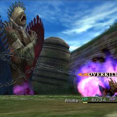 Anima's regular attack.