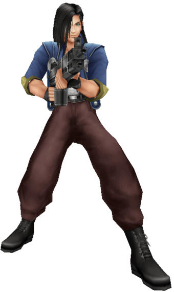 The Man with the Machine Gun | Final Fantasy Wiki | Fandom