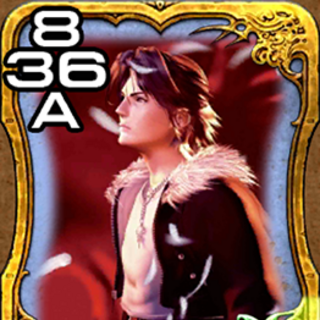 Squall from <i>Final Fantasy VIII</i>