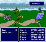 FFIV SNES Armor