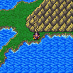 Mt. Hobs on the World Map (GBA).