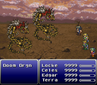 FFVI Used Monster Formation