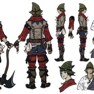 Concept artwork for <i>Final Fantasy XIV: A Realm Reborn</i>.