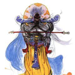 Рисунок Йоситаки Амано.