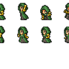 Set of Meliadoul's sprites.