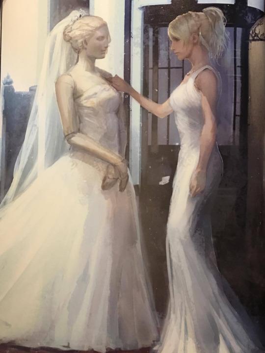Image - Luna-Wedding-Dress-Concept-Art.png | Final Fantasy Wiki ...