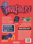 Nintendo Power Back Cover