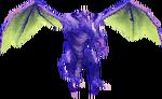 FFIII Drago alato 3D