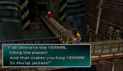 King VERMIN! FFVII