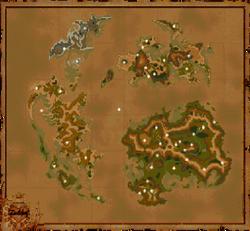 Mappa di Gaya