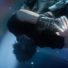 The ring absorbs the power of the Crystal in <i>Final Fantasy XV</i>.