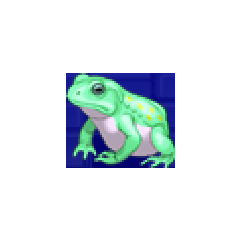 Frog portrait for Rydia and Tsukinowa in <i><a href=