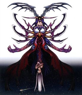 Ultimecia Final FFVIII Color Art