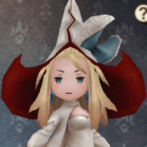 Edea as a White Mage