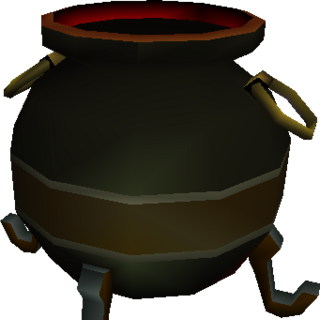 Model for Hades's cauldron