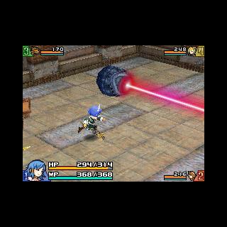 A laser trap.