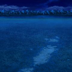 Fundo de batalha a noite (PSP).