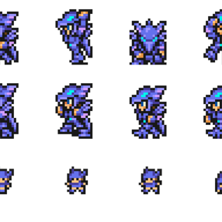 Sprites of the Dragoon.