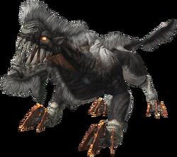 FFXIII enemy Silver Lobo
