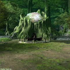 Perdra de Nophica em <i>Final Fantasy XIV</i> (<i>1.0</i>).